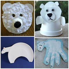 fun polar bear crafts