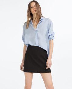 Image 2 of MINI SKIRT from Zara