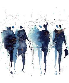 Illustrations Aquarelle - AquaNell - llustrations aquarelle mariages et carterie