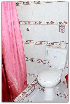 Baño de la habitación 1.