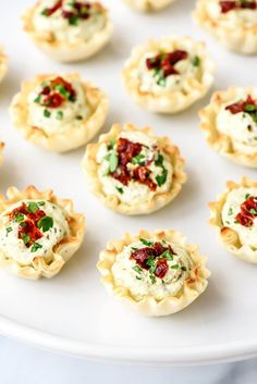 Make Sun Dried Tomato Pesto Bites for your Christmas dinner with this easy recipe.