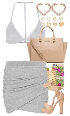 """""""Untitled #1392"""" by power-beauty ❤ liked on Polyvore featuring ASOS, Topshop, MICHAEL Michael Kors, Casetify, Forever 21 and James Perse"""