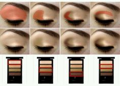 Pretty simple eyeshadow guide.:-)