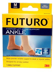 Futuro comfort lift ankle support, model no : 4503m, size: medium 8 - 9 inch - 1 ea