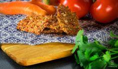 Vegan and Raw Flax Seeds Cracker - grab the recipe at veganosbrasil.com