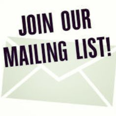 Our newsletter will be going out this week so if you want to join our mailing list for special offers, new arrivals and events drop us a mai. Join, Drop, Events, Instagram