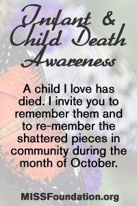 Infant and Child Death Awareness