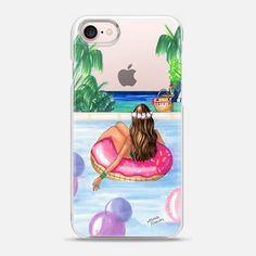 Poolside Mermaid (Summer Love) - Snap Case