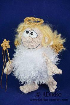 Amigurumi Crochet Pattern  Angel