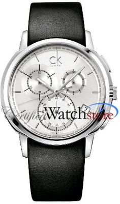 Calvin Klein K1V27820 Watch Drive Mens - Silver Dial Stainless Steel Case Quartz Movement