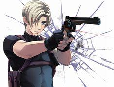 leon scott kennedy anime -