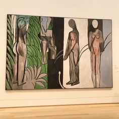 Still dreaming of my favorite Matisse at The Art Institute Chicago yesterday. 'Bathers by a River' is perfect for me...the colors and…