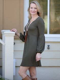 Simply Solid Dress
