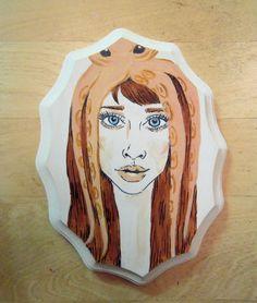 Fiona Apple painting at SAFS Gallery on Etsy by Roxy Arana