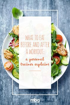 My food philosophy is pretty simple. If I can plant it, pick it or catch it, then I can eat it. If not, then I stay away. This is the same approach that I take when it comes to pre and post-workout snacks. Here are my top picks: