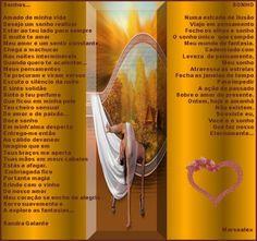 Sonhos por Sandra Galante e Sonho por Marsoalex. - Encontro de Poetas e Amigos
