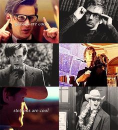 """-""""The Doctor is always the same man."""""""