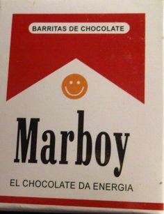 Cigarrillos de chocolate- wow