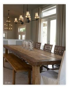 Dream Dining Table And Space.