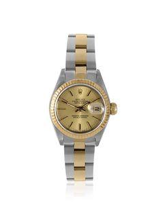 Rolex Women's Datejust Champagne Stainless Steel/Yellow Gold Watch, http://www.myhabit.com/redirect/ref=qd_sw_dp_pi_li?url=http%3A%2F%2Fwww.myhabit.com%2Fdp%2FB00OPZNDKK