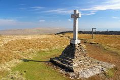 On top of Buckden Pike, from the Top 10 Walks book: Yorkshire Dales: Fell Walks