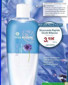  Per una #Pelle Pulita  Struccante Rapido Occhi Bifasico  a solo ⚠3,95€ #SalvaBellezza #YvesRocherItalia…