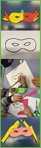 CARNESTOLTES - Material: cartolina, llapis, colors, material divers, tisores, cola - Nivell: CI 2PRIM 2015/16 Escola Pia Balmes