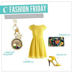 {Fashion Friday} We adore this festive spring look for Mother's Day celebrations! How will you honor mom this year?
