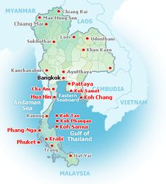 Thailand Beach Guide Thailand Beach Hotel & Resort by Beach Thailand would love to go one day
