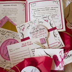 Vintage Lovers Wedding Stationery Range
