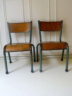 Chaise d'Ecolier Mullca 510 années 50′