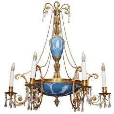 Antique English Adams Style Wedgwood Chandelier circa 1890  sc 1 st  Pinterest & Twelve light chandelier. Cut crystal in the Adam style. Design by ... azcodes.com