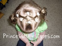 toddler hair | Since I have about a 1-2 minute window to complete a style on our ...