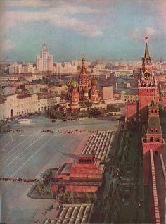 Москва 1960-х годов (Очень много фото) - история в фотографиях