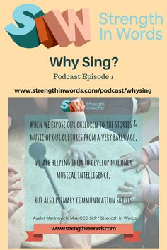 Episode 1: Why Sing? — Strength In Words