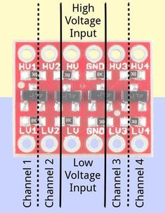 Logic-Level-Shifter zwischen 3.3V- und 5V-Logik