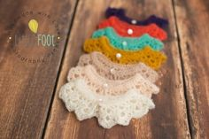 Image of Annally-Collar Newborn Photography Props, Newborn Photographer, Newborn Crochet, Crochet Baby, Baby Bonnets, Baby Pants, Photographing Babies, Baby Knitting, Crochet Earrings