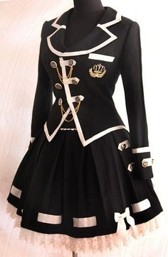 22 Trendy Zeichnen Anime Kleidung Schuluniformen - Famous Last Words Cosplay Dress, Cosplay Outfits, Edgy Outfits, Mode Outfits, Cute Casual Outfits, Pretty Outfits, Pretty Dresses, Beautiful Dresses, Scene Outfits