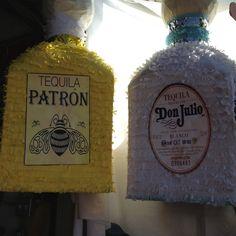 Tequila pinatas!