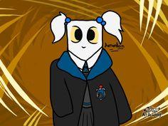 Essa é a Missi Bugada ( Vulgo MissingNo Everywhere )  Ela faz parte do Universo da Amanurr e da Ginurr c:  #Pokémon #HarryPotter #Ravenclaw