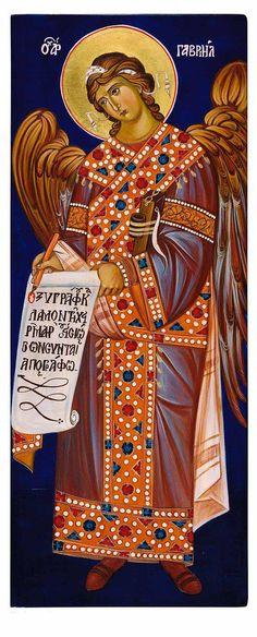 Orthodox Icon of Archangel Gabriel