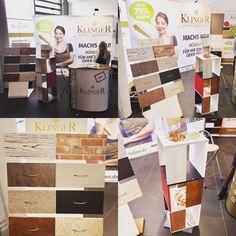 Hochwertige Möbelfolien von Fa. Klinger Folien GmbH