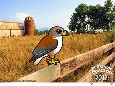 Birdorable Ferruginous Hawk