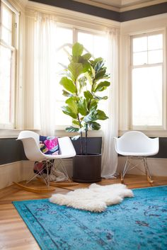 """A Rue Mag Editor Shows Us How To Style A Space #refinery29  http://www.refinery29.com/kelli-ryder-rue-magazine#slide16  Where do you shop for home goods in S.F.?  """"We get our big pieces from accessible stores like West Elm, Crate & Barrel, Room & Board, or IKEA and then pepper in charismatic accents from basically anywhere. Antique stores like The Parish Trust or Mickey's Monkey, plants from Cole Hardware, candles and pillows from Jonathan Adler, etc. We're always on the hunt for ..."""