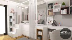 Po więcej inspiracji zapraszam na naszą stronę www.monostudio.pl lub naszego facebooka. Divider, Room, Furniture, Home Decor, Bedroom, Decoration Home, Room Decor, Rooms, Home Furniture