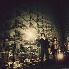 Harry Potter and the Order of the Phoenix:Department of MysteriesConcept Art