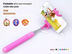 c179f083aab69c Selfie Stick, Garas Original Selfie Click Stick Self Portrait [Battery  Free] Extendable Handled
