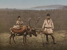 White Wolf : Rare, old photos of indigenous Sami people showcase their ancient and traditional way of life