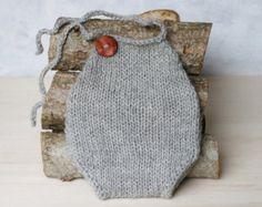 Knitting/Crochet PATTERN Newborn Baby Mohair by becauseofcrochet