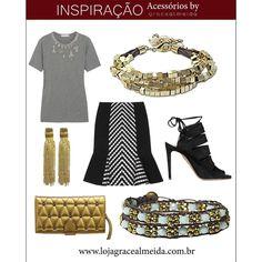 Adoramos combinações inusitadas!!! Espie mais propostas no BLOG: www.gracealmeida.com.br/blog